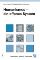 Cancik / Cancik-Lindemaier, Humanismus – ein offenes System