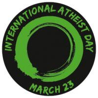 International Atheist Day, 3 Aufkleber